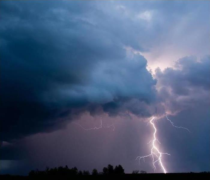 Create a plan to keep yourself safe and minimize property damage during a thunderstorm.