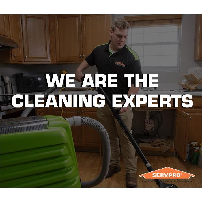 We are the cleaning experts